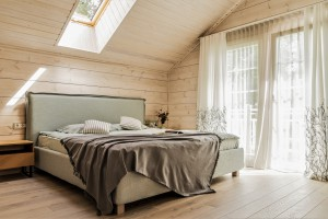 Guļamistabas noformējums Garkalnē